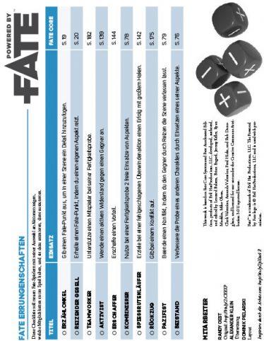Download Fate Errungenschaften