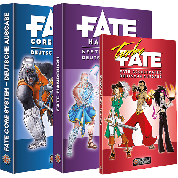 Fate Core, Fate Handbuch und Turbo-Fate