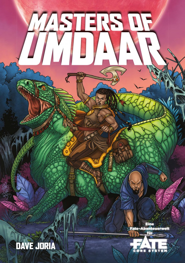 Masters of Umdaar_Deutsch_Cover