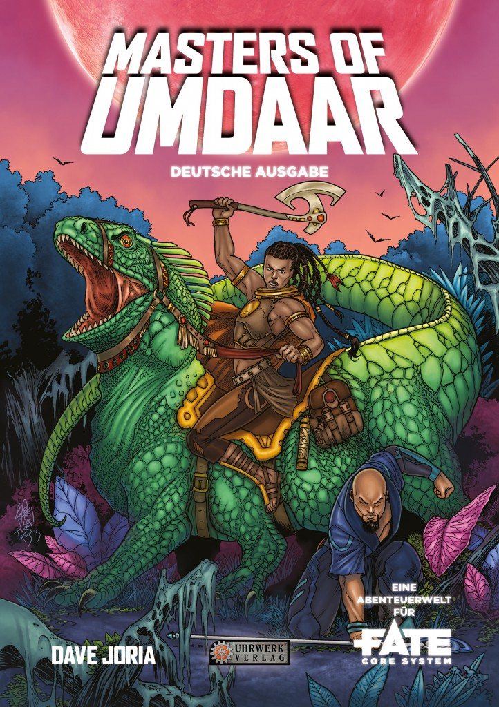 Masters of Umdaar_Cover_Deutsch