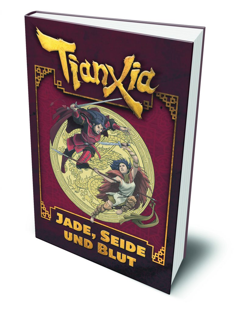 tianxia system Tianxia: blood, silk & jade is designed for evil hat productions' fate core system and requires those rules to play, but the supplemental material is written so that it can be easily used for any role playing system.