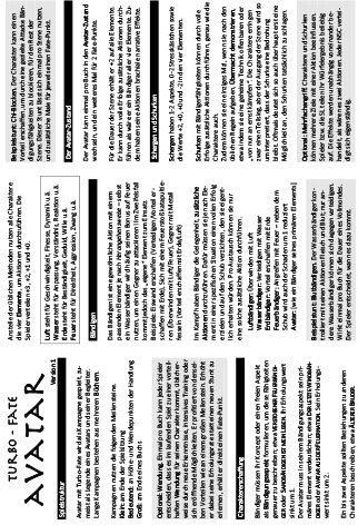 Download Avatar mit Turbo-Fate, komplett auf einer A4-Seite