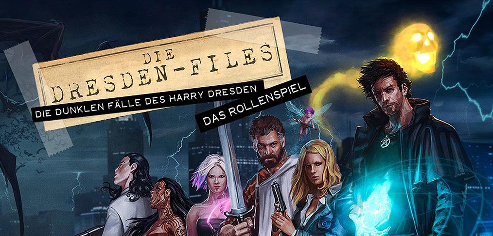 Artikelbild Dresden Files Rollenspiel