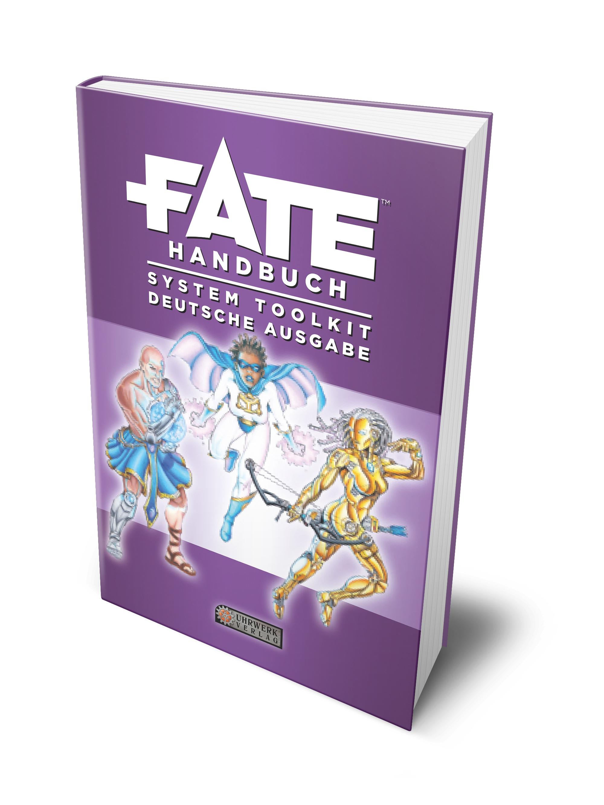 Fate-Handbuch System Toolkit Deutsche Ausgabe