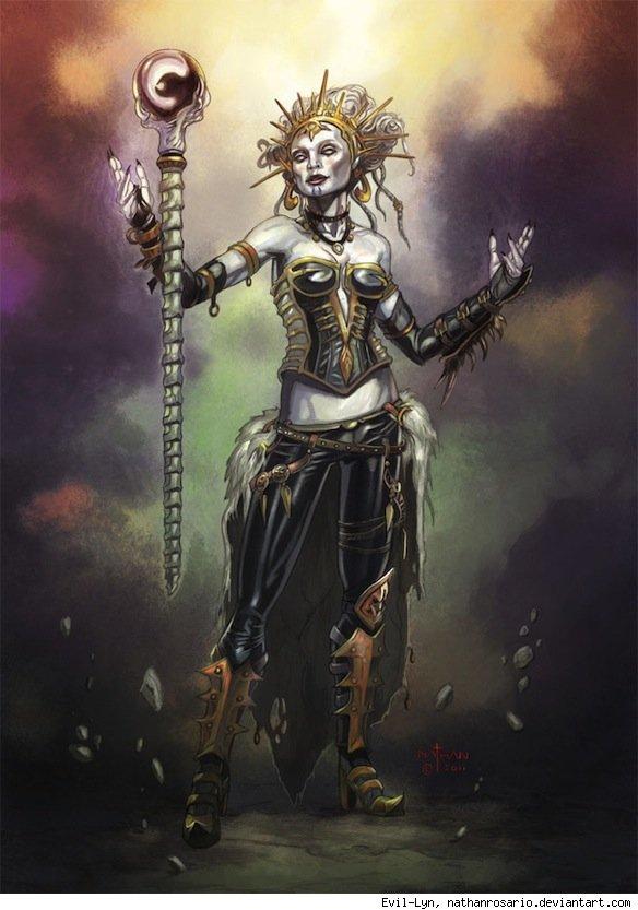 Evil Lyn by Nathan Rosario – http://www.deviantart.com/art/MotU-Concept-Evil-Lyn-260996711