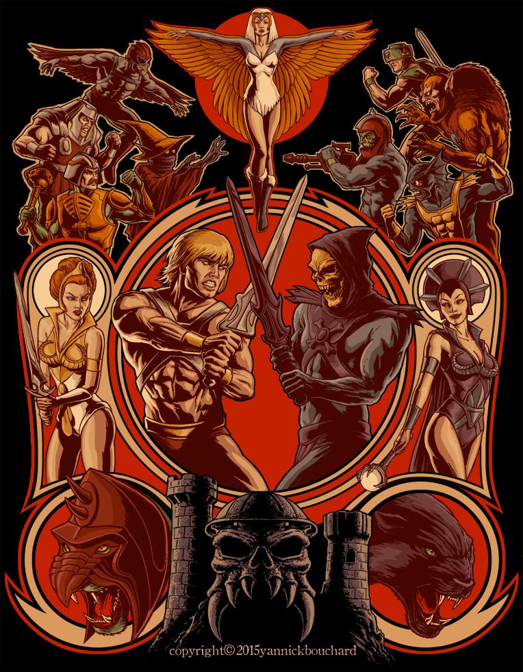 Battle of Grayskull by YannickBouchard – http://yannickbouchard.deviantart.com/art/The-Battle-of-Grayskull-525602871